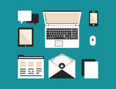 User's equipment for productive work: software personal account and mobile devices