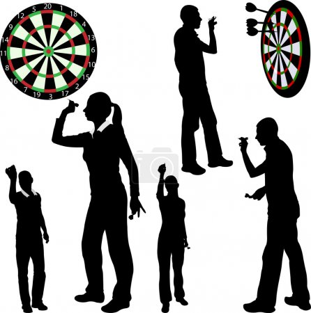 Darts players