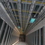 3d rendering. An Elevator shaft...