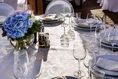 Banket kulatý stůl pro hosty