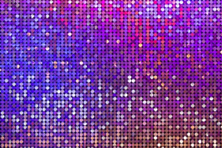 Photo for Beautiful abstract sparkles glitter background. Glittering sequins on the wall - Royalty Free Image