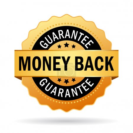 Money back guarantee seal