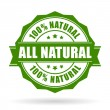 All natural vector icon isolated on white backgrou...