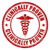 Clinically proven stamp