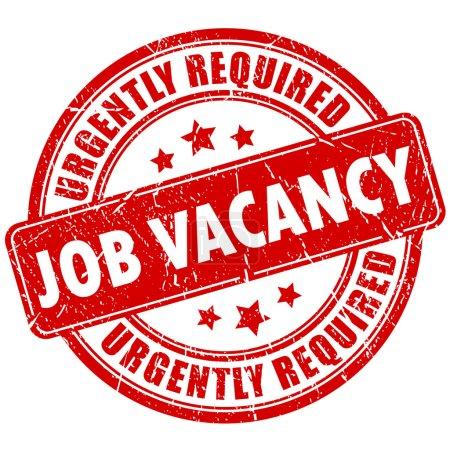 Job vacancy stamp