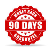90 days money back guarantee icon