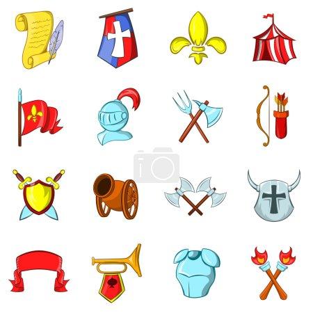 Les icônes du Moyen Age ensemble