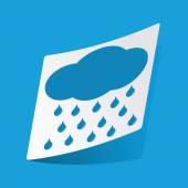 Raining sticker