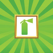Fire extinguisher picture icon