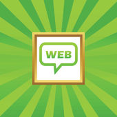 WEB message picture icon