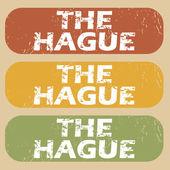 Vintage The Hague stamp set
