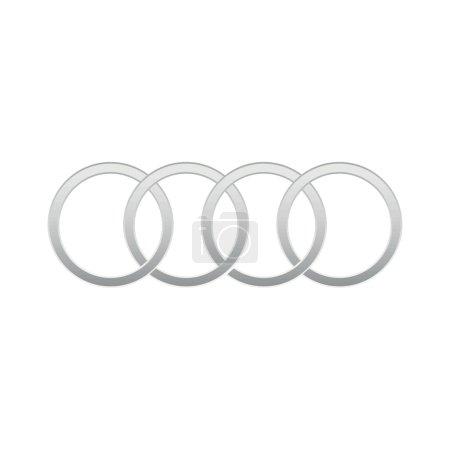 Audi auto logo