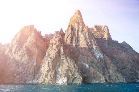 Crimea mountains Karadag