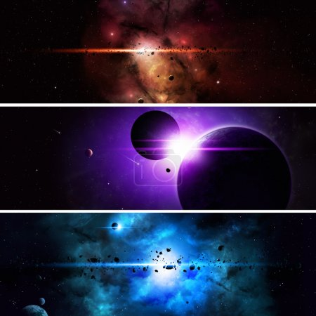 Imaginary Space Banners