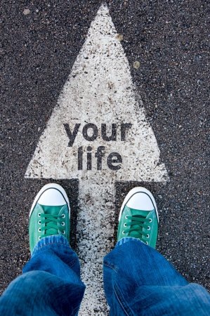 Green shoes on your life sign