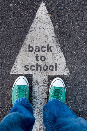 Sign back to school