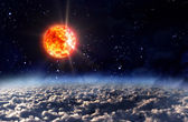 Solar Sun light night