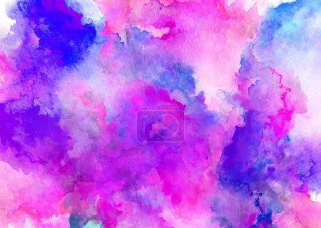 Foto de Acuarela colorido dibujo para su uso en la experiencia artística - Imagen libre de derechos