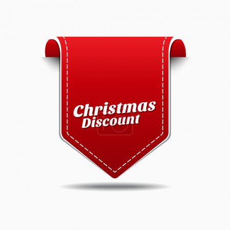 Christmas Discount Icon Design