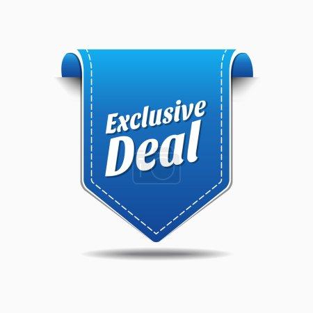 Exclusive Deal Icon Design