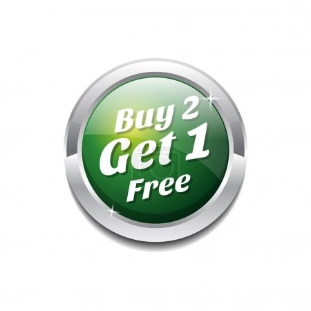 Buy 2 Get 1 Free Button