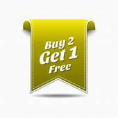 Buy 2 get 1 free Icon
