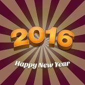 Šťastný nový rok 2016 tapety Design