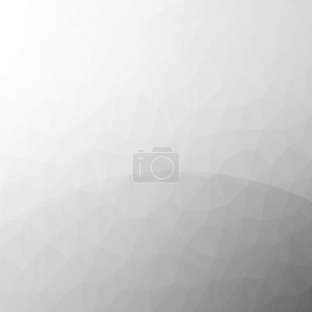 Illustration for Light clean modern low poly background with reflections - Royalty Free Image