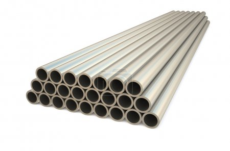 rolled metal, tube 2