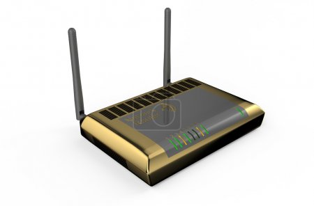 Golden wifi router