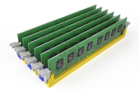 Modules mémoire DDR3 4