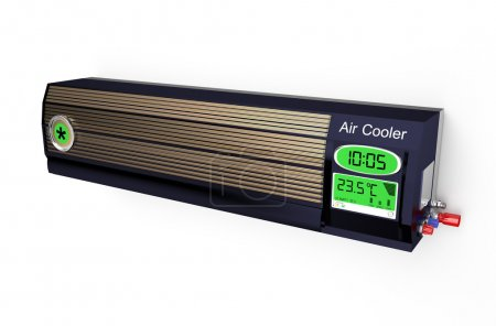 Black air conditioner 2