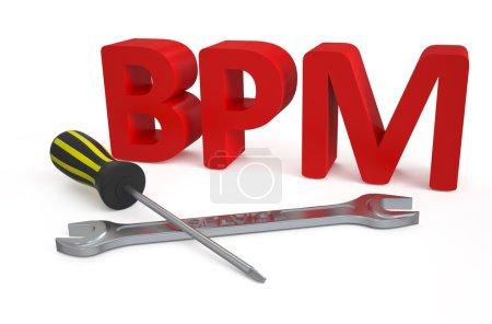 Business process management (BPM) service concept