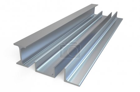 Angle, rail and channel steel  bar