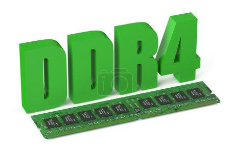 DDR4 memory module card