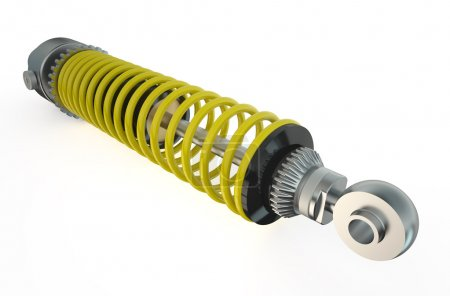 one shock absorber