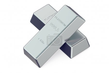 Two Platinum bars