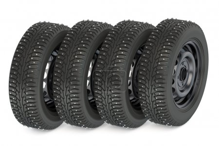 Group of winter automotive tires
