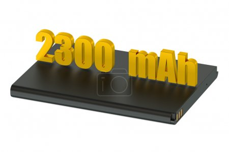 Battery for smatphone and tablet 2300 mAh