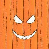 Scary pumpkin illustration