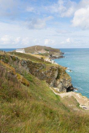 Towan Head Beacon Cove Newquay Cornwall England UK