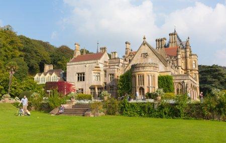 Victorian mansion Tyntesfield House near Wraxall North Somerset England UK