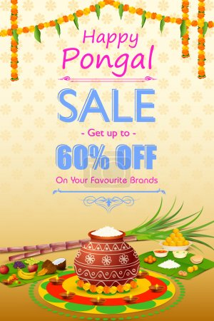 Happy Pongal celebration shopping offer