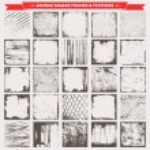 Set Of 25 Grunge Square Frames Borders Textures Ba...