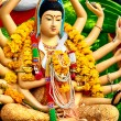 Religion In Thailand. Statue Of Eighteen Arms Guan...