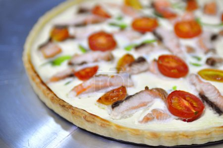 Delicious variation for quiche pie and pizza - pie...