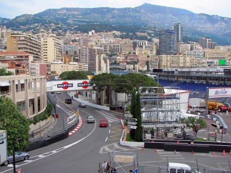 MONACO - MAY 20 : Monaco streets are ready for the 65Th F1 Grand Prix de Monaco May 20, 2007.