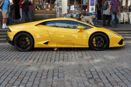 yellow Lamborghini Gallardo Willimantic