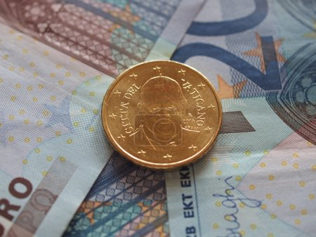 Twenty Euro EUR banknotes useful