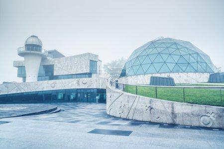 Dome festival in Valentina Tereshkova cultural center, a woman cosmonaut. The planetarium and observatory. Popular landmark